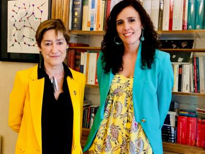 La presidenta del CGAE se reúne con la Directora de la Asociación Humanizando la Justicia