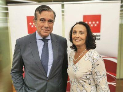 Enrique López, Consejero de Justicia de la Comunidad de Madrid, se reúne con la Asociación Humanizando la Justicia