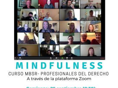 Programa de reducción de estrés basado en Mindfulness MBSR para profesionales del Derecho